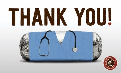 Chipotle thanks healthcare heroes with donation to Direct Relief