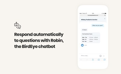 Let Robin the chatbot immediately respond to customers for basic questions without interrupting your team's focus on other tasks.