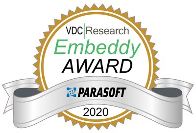 Parasoft C/C++test is honored for its leading technology to increase software engineer productivity and achieve safety compliance