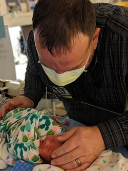 """NICU families are facing escalating mental health challenges due to virus infection fears, additional financial concerns, limitations on when they can visit their baby in the NICU and being socially isolated from their support system of family and friends,"" said Kelli Kelley, NICU parent and founder/CEO of Hand to Hold. ""Our online support groups are designed to provide NICU families with a virtual 'hand to hold' and emotional support during the COVID-19 crisis."""