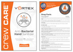 Vortex Companies Launches Crew Care™ Anti-Bacterial Hand Sanitizer