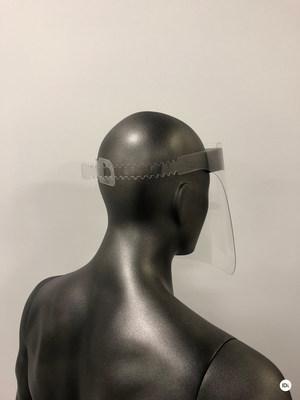 Face Shield back