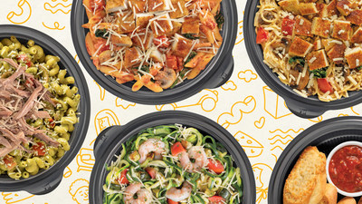 Noodles & Company launches new family meals and commits to giving back to healthcare workers.