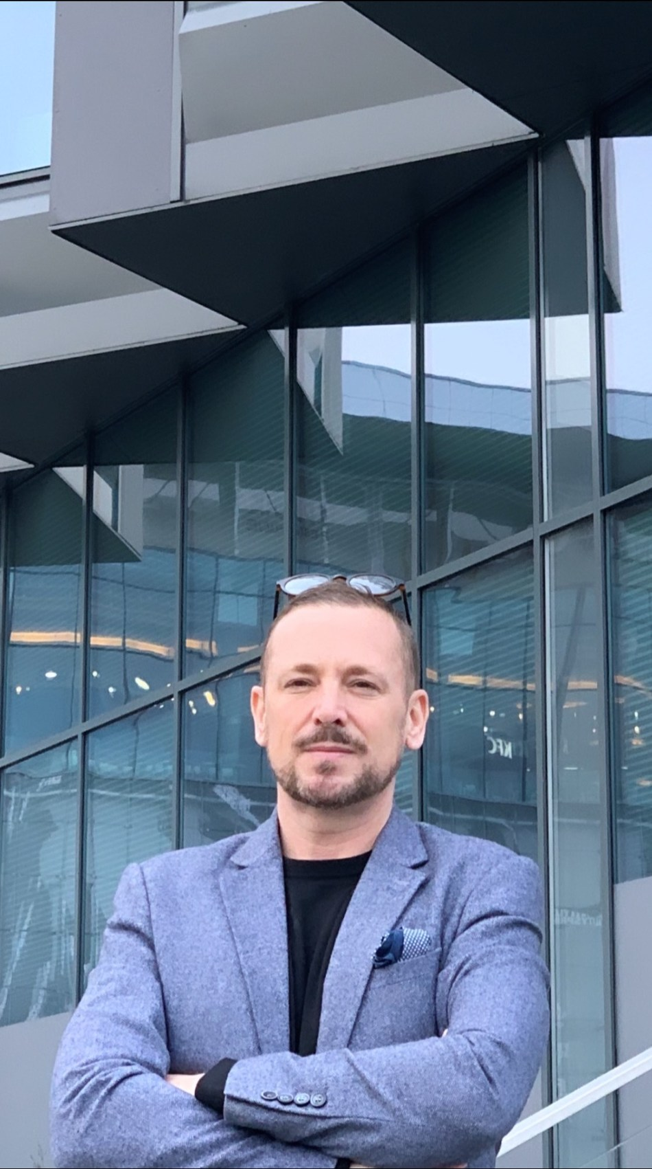 Graham Fell, FlexDev's Executive Vice President outside their Nearshore Delivery Center in Poznan (PRNewsfoto/FlexDev Public Relations)