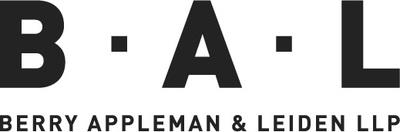 Berry Appleman & Leiden LLP Logo (PRNewsfoto/Berry Appleman & Leiden LLP)