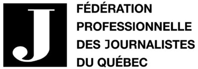 Logo : Fédération professionnelle des journalistes du Québec (FPJQ) (Groupe CNW/Fédération professionnelle des journalistes du Québec)
