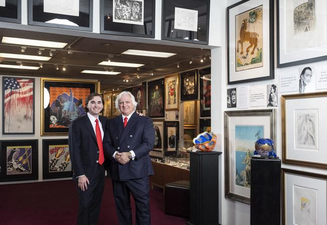 Phil Koss & Phillips Koss IV at American Fine Art, Inc.