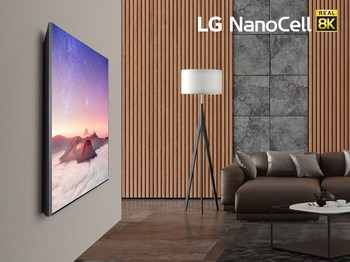 Delivering crisp, detailed picture quality,, LG's 2020 8K NanoCell TVs exceed the industry requirements for 8K Ultra HD TVs as defined by the Consumer Technology Association, making them among the first 8K models qualified to use the CTA 8K Ultra HD logo joining LG's 2020 ZX series of 8K OLED TVs.