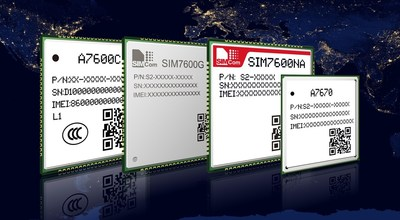 SIMCom LTE Cat.1 modules