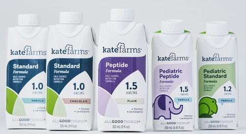 Kate Farms plant-based formulas for ages 1-101