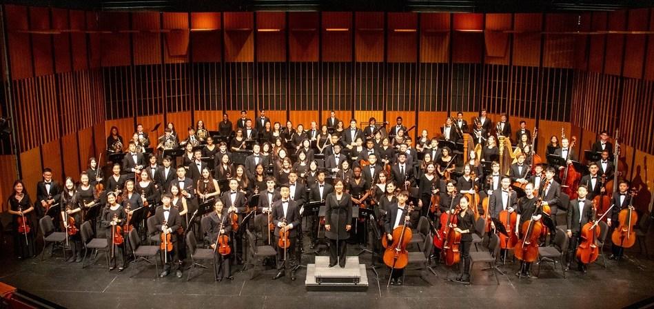 The award-winning NJYS Youth Symphony at Princeton University's Richardson Auditorium.