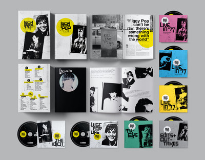 IGGY POP 'THE IDIOT' AND 'LUST FOR LIFE' DELUXE EDITIONS PLUS A 7-CD BOX SET TO BE RELEASED ON MAY 29th ON UME