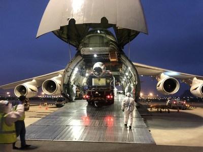 XCMG exporta a Oriente Medio equipo especial de prevención de epidemias en la lucha contra el COVID-19