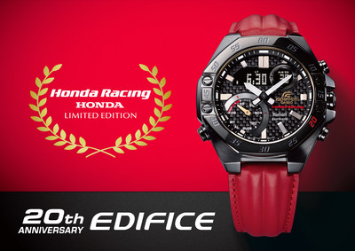 EDIFICE 20th Anniversary × Honda Racing ECB-10HR