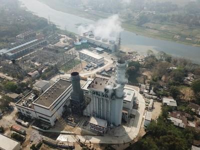 A usina de energia de ciclo combinado de 225 MW da Shanghai Electric em Sylhet apresentando o gerador refrigerado a ar patenteado elevará a produção nacional de eletricidade por 640 milhões de kWh anualmente (PRNewsfoto/Shanghai Electric)