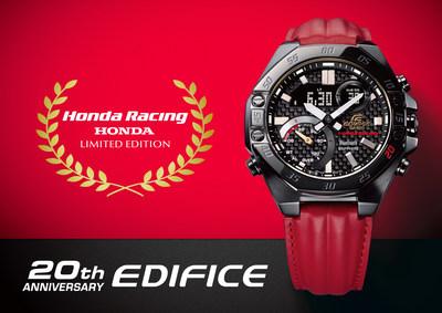 Vigésimo aniversario de EDIFICE × Honda Racing ECB-10HR