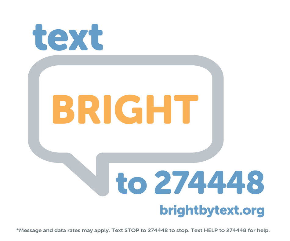 Bright by Text offers free text messages to help parents and caregivers support children prenatal to age 8.
