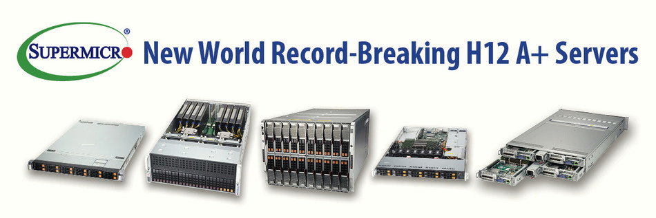 Supermicro Introduces Industry S Broadest Portfolio Of Systems Based On The 2nd Gen Amd Epyc Processors With 27 World Record Performance Benchmarks Achieved
