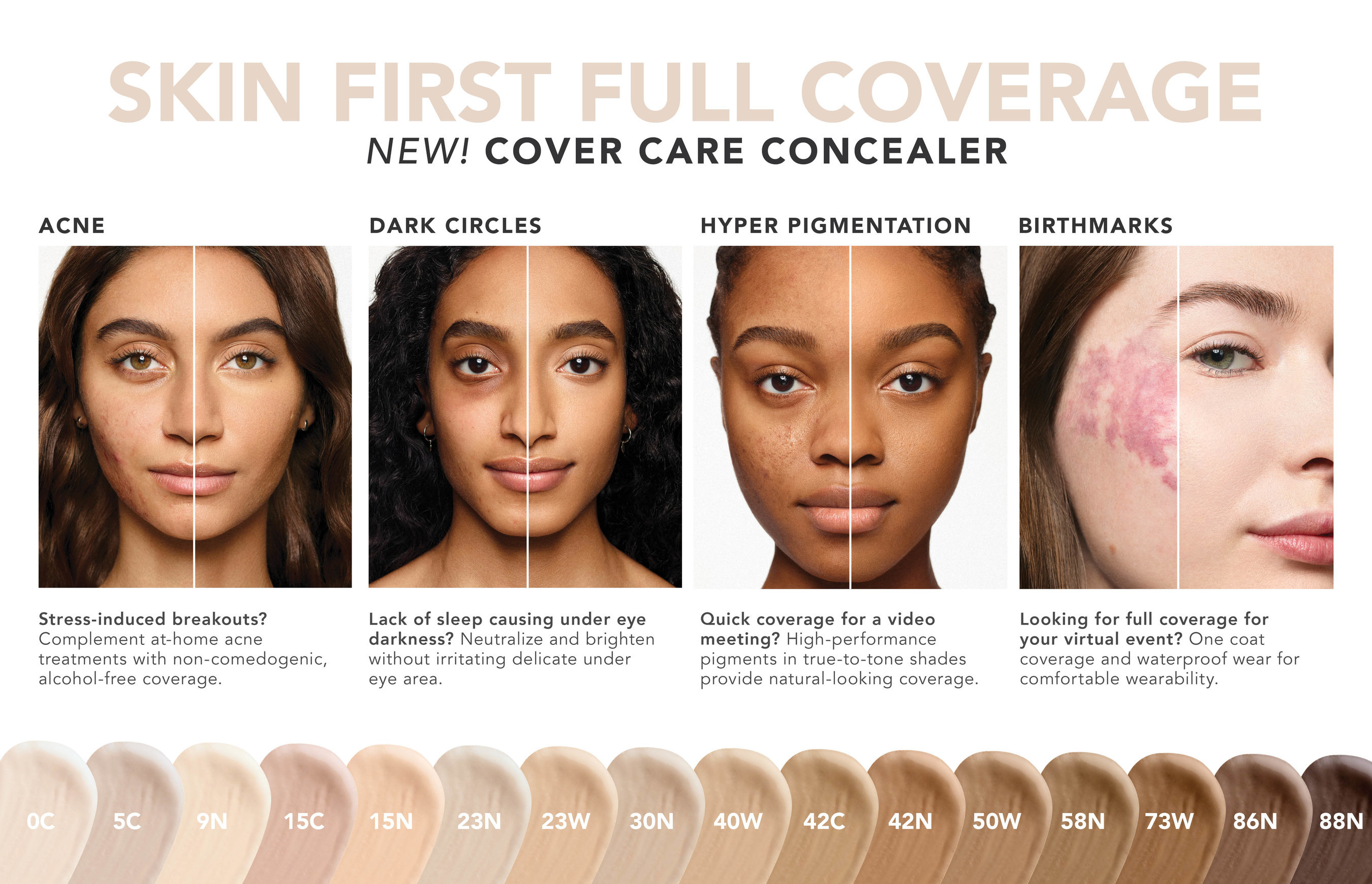 Cover Care Full Coverage Concealer by dermablend #4