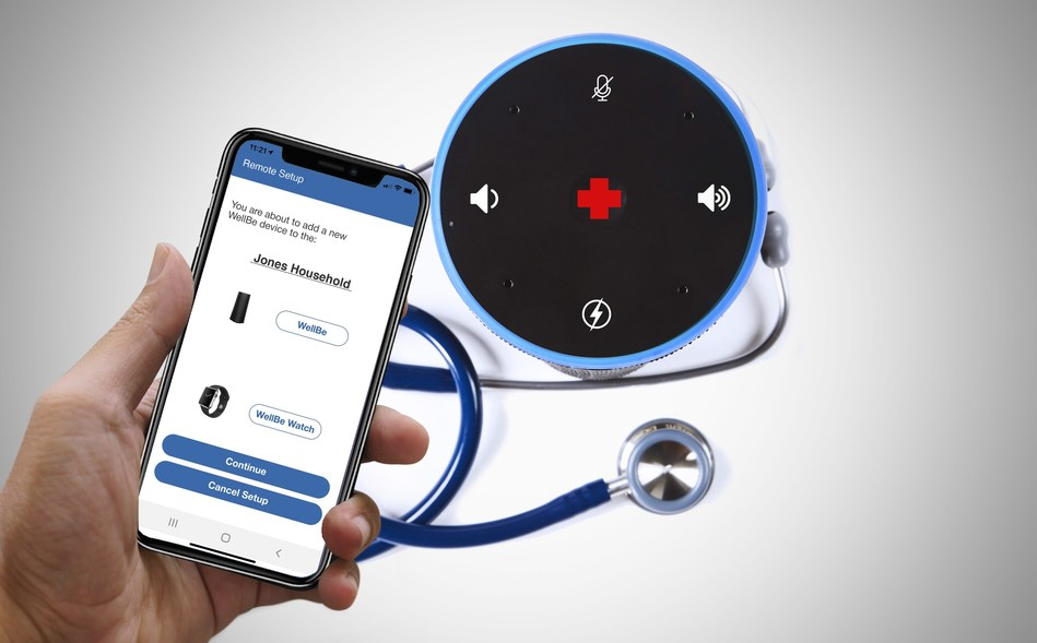 WellBe, HandsFree Health's Voice Assistant Platform