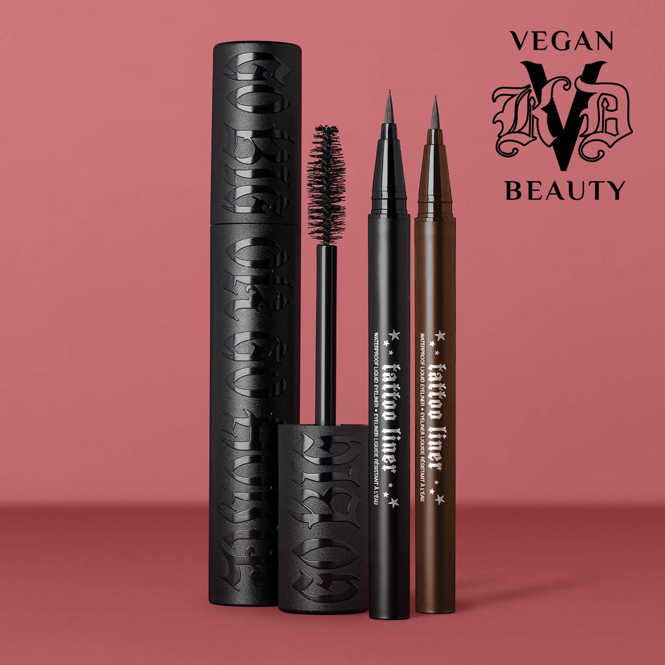 KVD Vegan Beauty Tattoo Liner and Go Big or Go Home Mascara