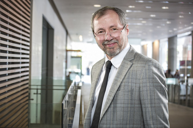André Roy (CNW Group/Université de l'Ontario français (UOF))