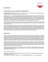 Vermilion Energy Inc. Announces Suspension of Monthly Dividend (CNW Group/Vermilion Energy Inc.)