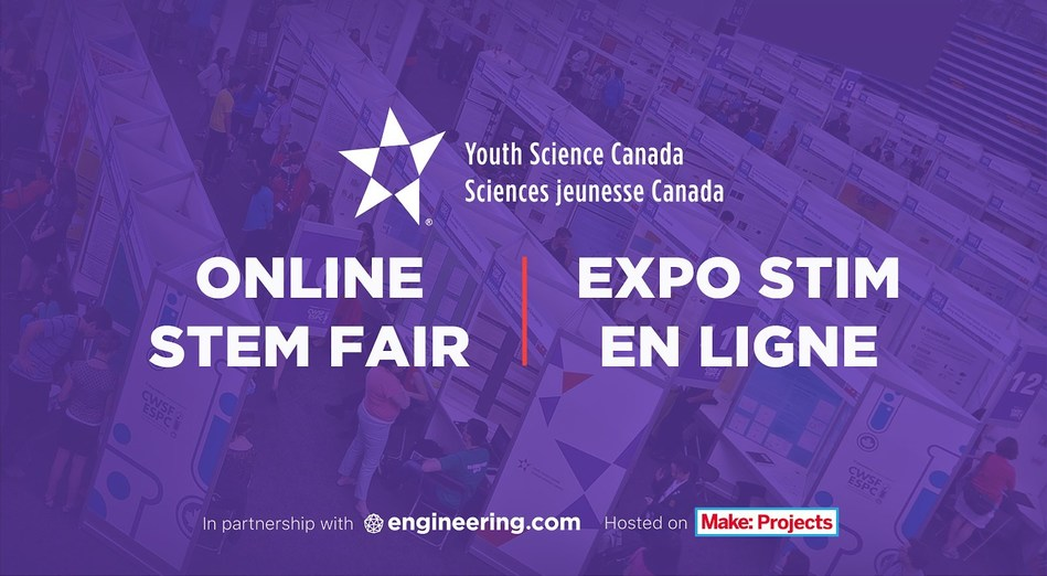 Engineering.com and YSC to launch first Online STEM Fair (CNW Group/engineering.com)