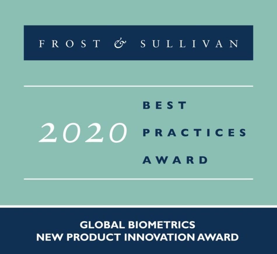 2020 Global Biometrics New Product Innovation Award