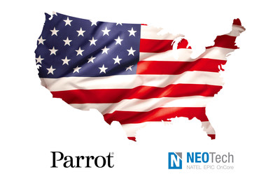 Parrot to manufacture its Short-Range Reconnaissance drone prototypes for the Department of Defense in the United States of America with NEOTech