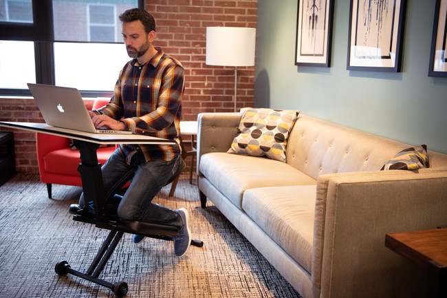 The Edge Desk System is the perfect Work fro Home solution. The Edge Desk comes fully assembled and can be deployed in under 30 seconds, folds flat to just 7 inches and weighs less than 29 points