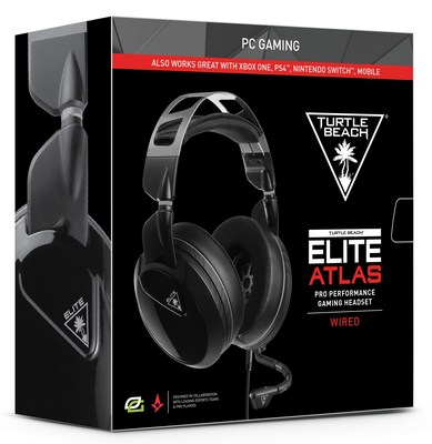 Turtle Beach Elite Atlas gaming headsets designed for gamers at home and on the go.