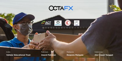 OctaFX is Donating 25,000 USD to COVID-19 Relief
