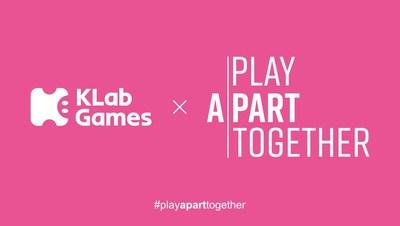 KLab joins the #PlayApartTogether campaign. (Photo: KLab)