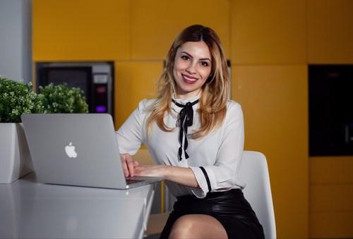 Madalina Rotaru, the CEO of Key Way Markets Ltd in Abu Dhabi