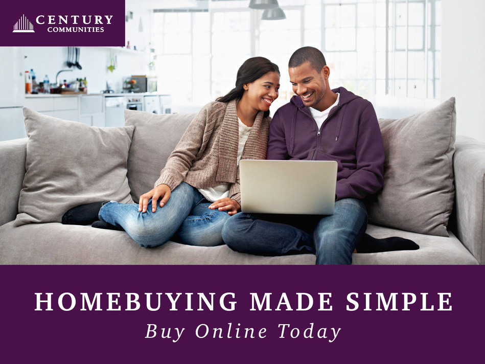 Century Communities offers virtual homebuying resources