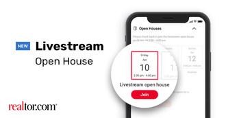 Livestream Open Houses are now available on realtor.com.