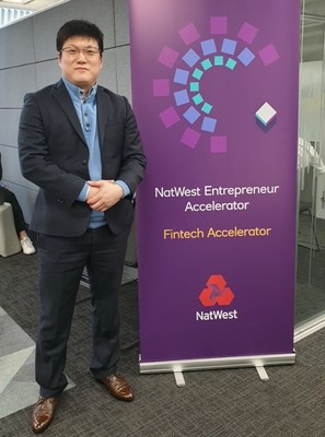 Bluevisor picked for NatWest FinTech Accelerator Programme (Hwang Yong-guk, CEO of Bluevisor)