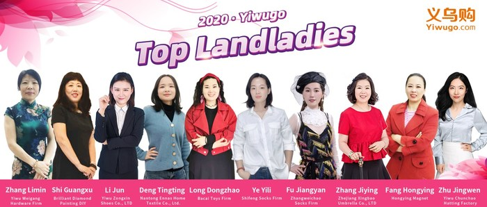 2020 - Yiwugo Top Landladies