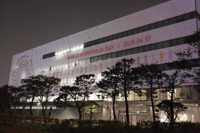 GC Pharma lights up celebrate 'World Hemophilia Day'