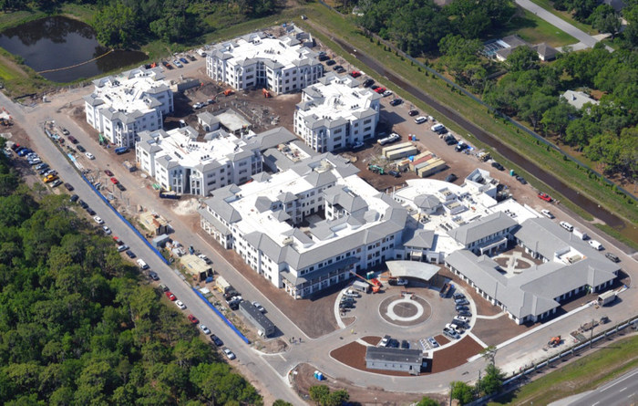 Watercrest Senior Living Group and United Properties are pleased to announce that construction is steadily progressing at Watercrest Sarasota Senior Living and the community will welcome founding residents later this summer.