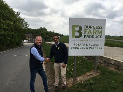 Burgess Farm Produce (PRNewsfoto/Proagrica and KisanHub)