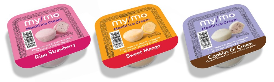 The new single-serve pack will be available in the self-serve My/Mo Mochi Ice Cream Bar at retailers throughout the country.