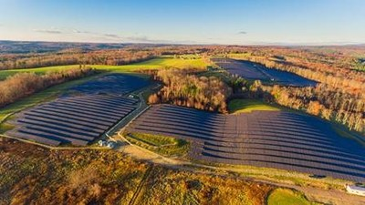 Boston Scientific is participating in new community solar projects developed by Clearway Energy Group. Photo courtesy Clearway Energy Group