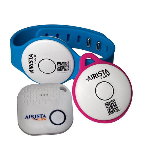 The AiRISTA Flow Social Distancing and Contact Tracing Solution for the workplace.