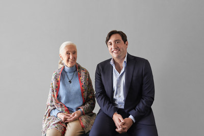 Dr. Jane Goodall and Neptune Wellness Solutions CEO Michael Cammarata partner to co-develop natural health and wellness products under the Forest Remedies™ brand. (CNW Group/Neptune Wellness Solutions Inc.)