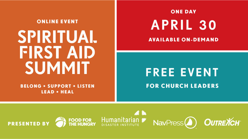 Register today for the Spiritual First Aid Online Summit!