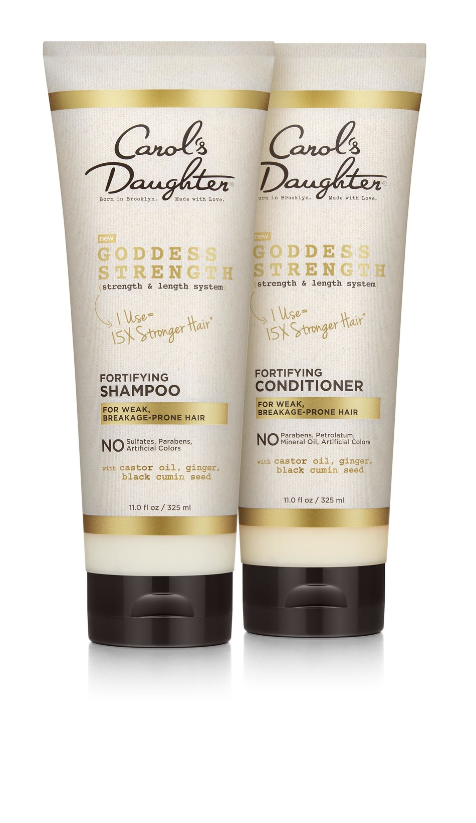 Carol's Daughter Goddess Strength Shampoo and Conditioner