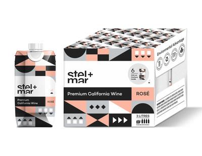 stel+mar 6x500ml Tetra Pak: a first in wine packaging! (CNW Group/Sheep Black Wine Inc.)