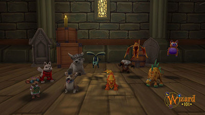 Play with your pets in all new ways in the latest update from Wizard101.